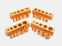 Cylinders Knobbed - Small (Set of 4)